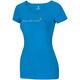 Ocun Bamboo Flower - T-shirt manches courtes Femme - bleu